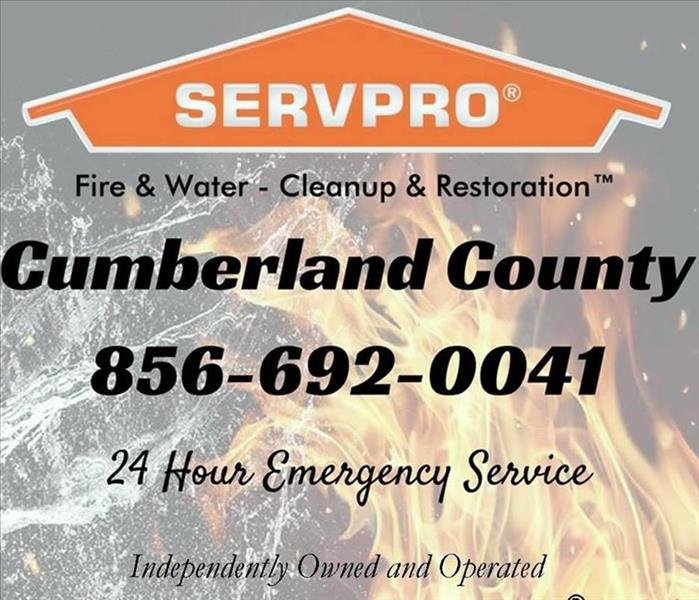 Building Services SERVPRO of Cumberland County Offers Many Services!